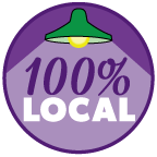100% locally grown