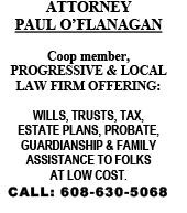 Paul O'Flanagan, Attorney