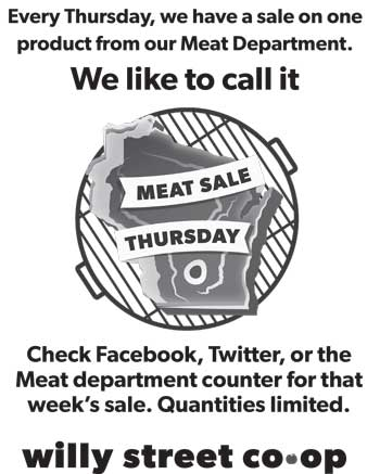 Meat Sale Thursdays