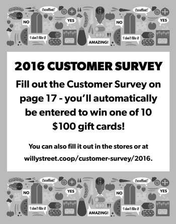2016 Customer SUrvey