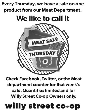 Meat Sale Thursdays