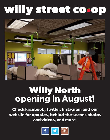 Willy North Opening in August!