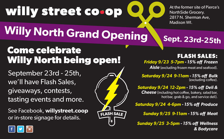 Willy North Grand Opening
