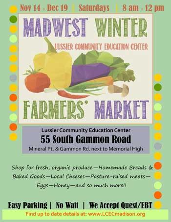 Madwest Winter Farmers Market