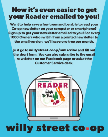 Get the Reader emailed to you