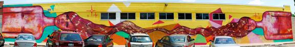 full complete mural