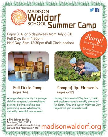 Madison Waldorf School Summer Camp