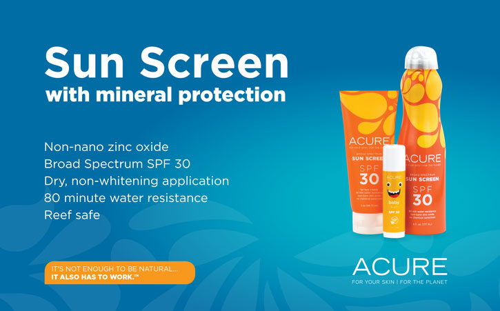 Sun Screen with mineral protection