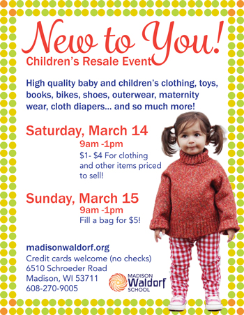 Children's Resale Event