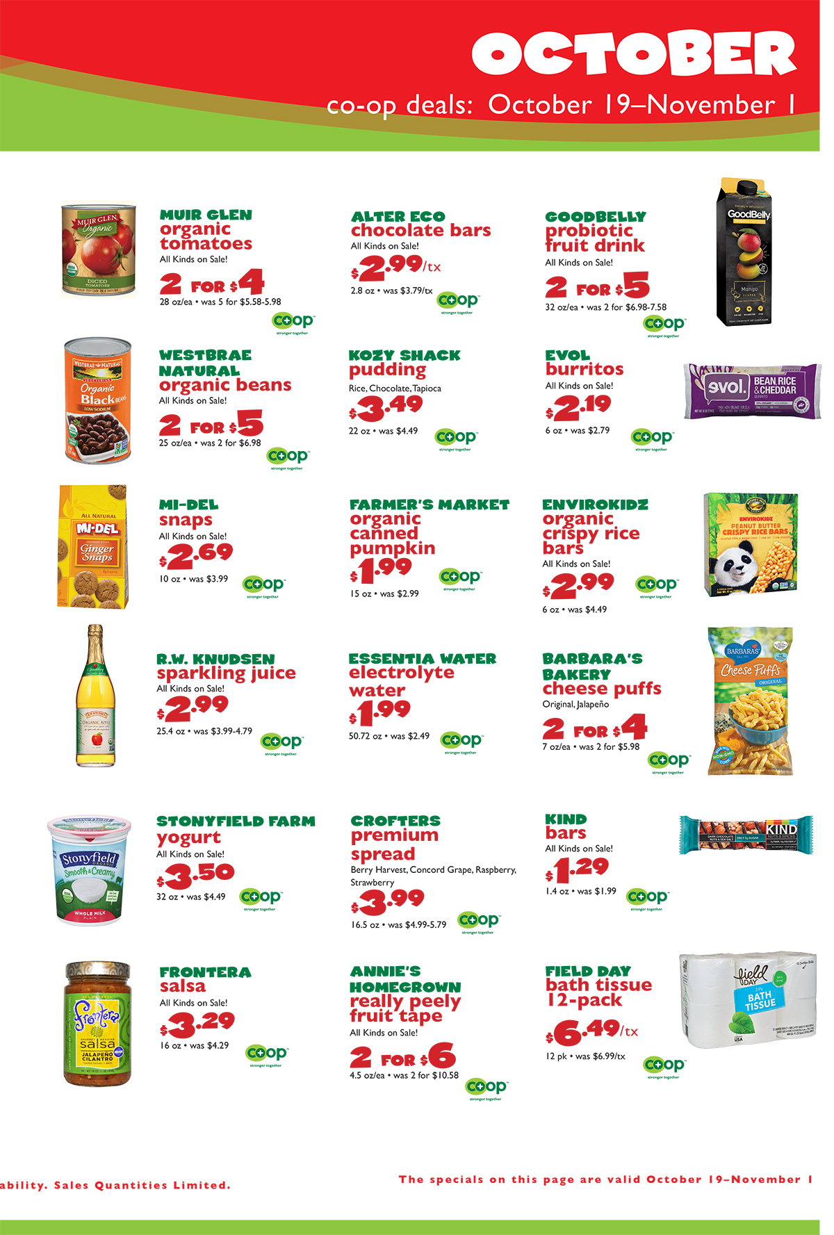 October Co-opDeals, page 3