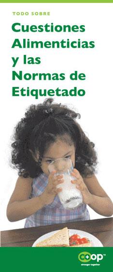 cuestiones alimenticias y las normas de etiquetado pamphlet