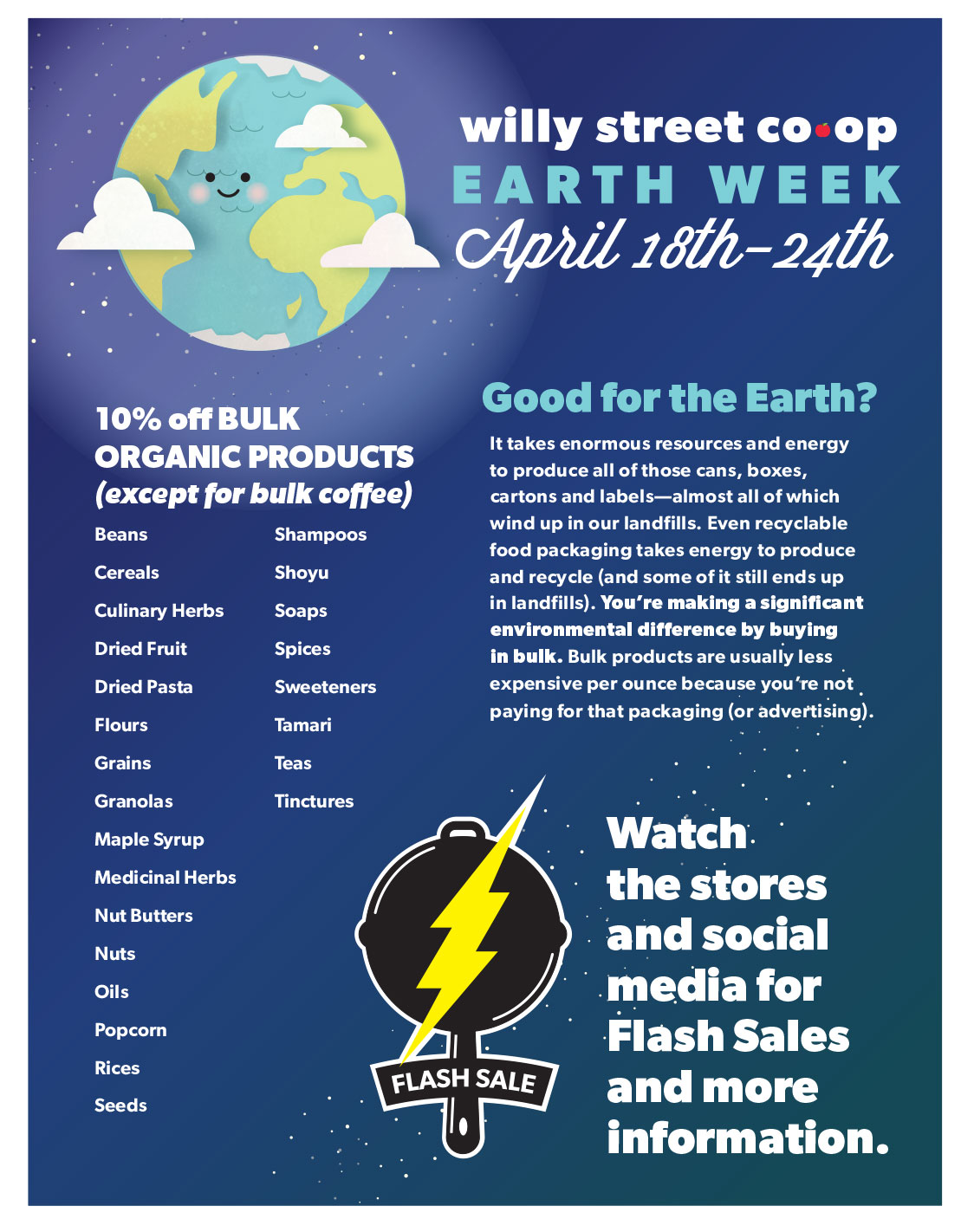 Earth Week April 18th-24th