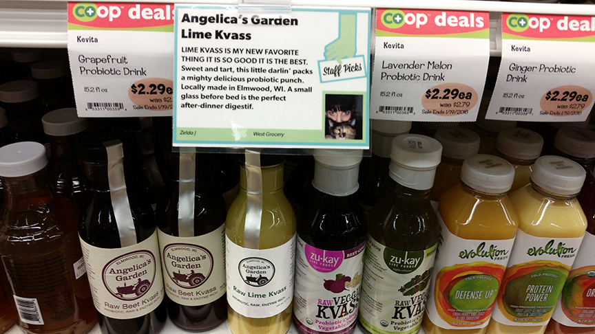 Angelica's Garden Lime Kvass Staff Pick (January 2016)