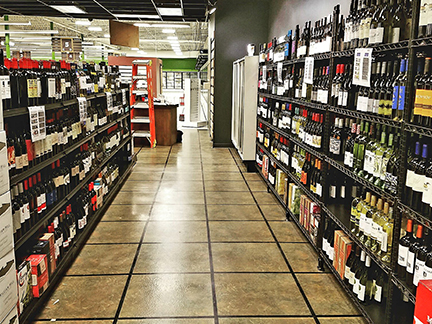 Willy North beer & wine department
