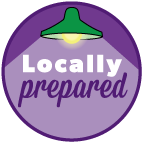 locally prepared