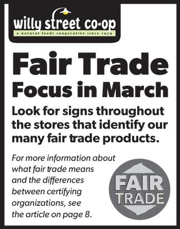 Fair trade focus in March