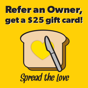 Refer an Owner, get a $25 gift card!