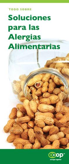soluciones para las alergias alimentarias pamphlet