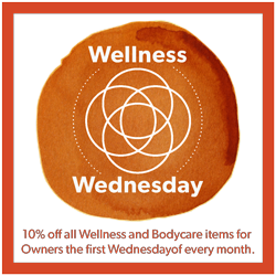 Wellness Wednesday logo