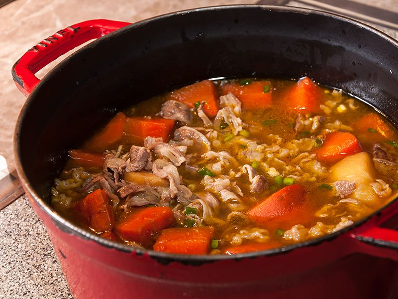 Meat & vegetable soups